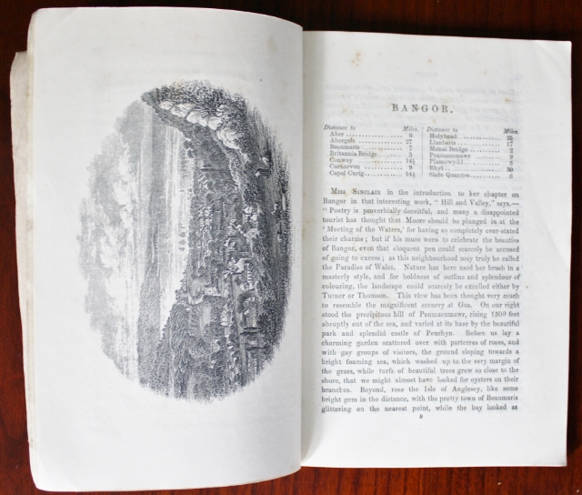 Opening pages for Bangor section
